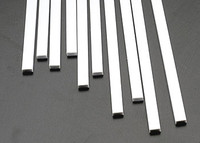 1/8 x 1/4 Rectangular Rods Styrene (10) Plastruct Supplies