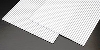 1/32 Corrugated Siding Plastic Pattern Sheet (2) Plastruct Supplies