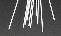 .060 Half Round Rods Styrene (10) Plastruct Supplies