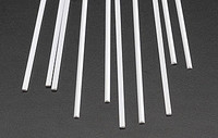 .080 Half Round Rods Styrene (10) Plastruct Supplies