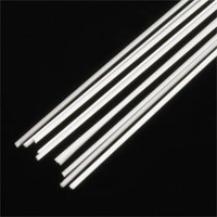 .030 Triangular Rods Styrene (10) Plastruct Supplies