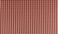 G Spanish Roof Tile Plastic Pattern Sheet (2) Plastruct Supplies