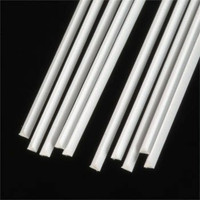 .080 Triangular Rods Styrene (10) Plastruct Supplies
