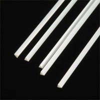 .100 Triangular Rods Styrene (5) Plastruct Supplies