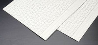 G Wood Shake Shingles Plastic Pattern Sheet (2) Plastruct Supplies