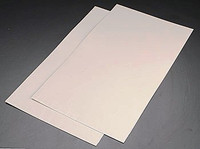 N Random Coursed Stone Plastic Pattern Sheet (2) Plastruct Supplies