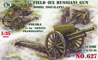 3-inch ex-Russian Model Late 1902 Field Gun 1/35 UniModels