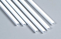 3/16 Fineline Square Tubing Styrene Plastruct Supplies