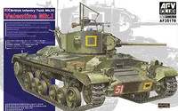 British Mk III Valentine MK I Tank 1/35 AFV Club