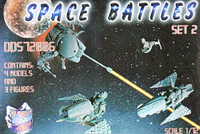 Dark Dream Studio Series Space Battles Set 1/72 Orion Figures