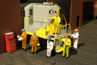 Scenescapes Mechanics (6 & Tool Chest) O Bachmann