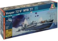 "Vosper 72' 6"" Motor Torpedo Boat 77 1/35 Italeri"