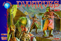 Dwarves Set #1 Figures (44) 1/72 Alliance