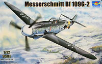 Messerschmitt Bf109G-2 German Fighter 1/32 Trumpeter