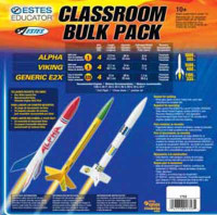 AVG Model Rocket Kit (12/Bulk Pk) Estes