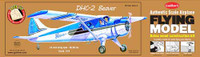 "DHC2 Beaver 24"" Wingspan Laser Cut Kit 1/24 Guillows"