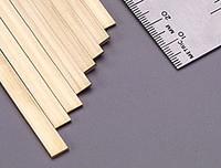 ".064""x1/4""x12"" Brass Strips (1) K&S Engineering"
