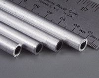 "5/16""x12"" Round Aluminum Tube .049 Wall (1) K&S Engineering"