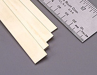 ".064""x1/2""x12"" Brass Strips (1) K&S Engineering"