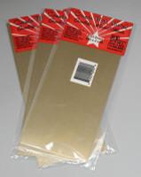 ".032"" Brass Sheet Metal 4""x10"" (3) K&S Engineering"