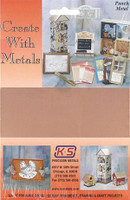 "5""x7"" Punch Metal Copper Sheet K&S Engineering"