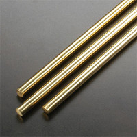 "1/4"" Solid Brass Rod 36"" L (4) K&S Engineering"