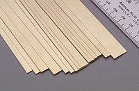 ".016""x1/2""x12"" Brass Strips (1) K&S Engineering"
