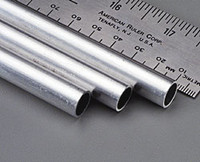"7/16""x12"" Round Aluminum Tube .035 Wall (1) K&S Engineering"