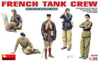 French Tank Crew (5) 1/35 Miniart