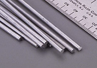 "1/8""x12"" Solid Aluminum Rod (1) K&S Engineering"