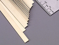 ".032""x1/4""x12"" Brass Strips (1) K&S Engineering"