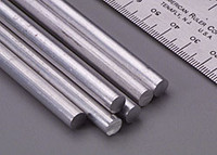 "1/4""x12"" Solid Aluminum Rod (1) K&S Engineering"