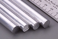 "3/8""x12"" Solid Aluminum Rod K&S Engineering"