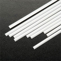 .100 Half Round Rods Styrene (10) Plastruct Supplies