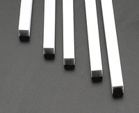 1/4 Square Rods Styrene (5) Plastruct Supplies