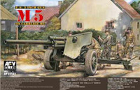 U.S 3 inch Gun M5 on M6 Carriage 1/35 AFV Club