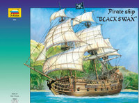 Pirate Ship Black Swan 1/72 Zvezda
