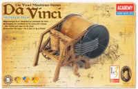 "DaVinci Mechanical Drum (Approx. 9"" L) (Snap Kit) Academy"