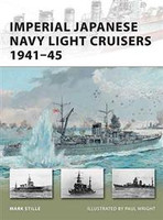 Vanguard Imperial Japanese Navy Light Cruisers 1941-45 Osprey Books