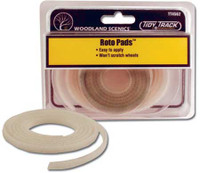 Tidy Track Roto Replacement Pads HO and N Scales Woodland Scenics