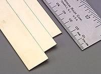 ".064""x3/4""x12"" Brass Strips (1) K&S Engineering"