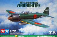 Mitsubishi A6M5 (Zeke) Zero Fighter 1/72 Tamiya