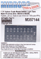 British Mk VI Light Tank Mirrors for Vulcan 1/35 Echelon