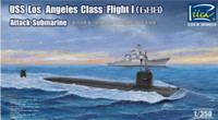 USS Los Angeles Class Flight I (688) Attack Submarine 1/350 Riich