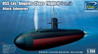 USS Los Angeles Class Flight II (VLS) Attack Submarine 1/350 Riich