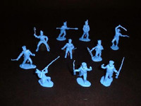 Alamo Mexican Infantry Set #3 (12) 1/32 Classic Toy Soldiers