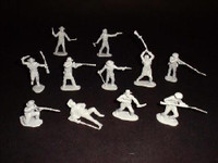 Alamo Texan Defenders (12) 1/32 Classic Toy Soldiers