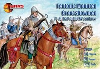 Century Teutonic Crossbowmen 1st Half XV  (12 Mtd) 1/72 Mars Figures