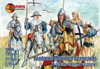 Century Teutonic Sergeants 1st Half XV (12 Mtd) 1/72 Mars Figures