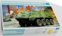 M1129 Stryker Mortar Carrier Vehicle (MC-B)w/120mm Mortar 1/35 Trumpeter